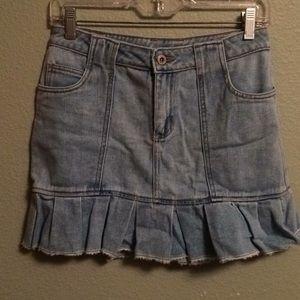 Other - Girls blue denim skirt size 14